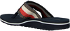 blauwe TOMMY HILFIGER Slippers ELEVATED CORPORATE BEACH SANDA  - small