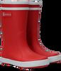 Rode AIGLE Regenlaarzen LOLLYPOP  - small