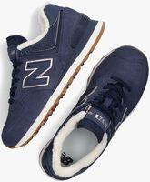Donkerblauw NEW BALANCE Lage sneakers WL574  - medium