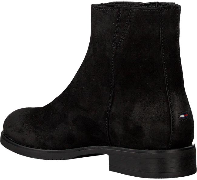 Zwarte TOMMY HILFIGER Chelsea boots TOMMY JEANS ZIP FLAT  - large