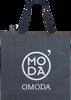 Zwarte OMODA Shopper 40x12x35 - small