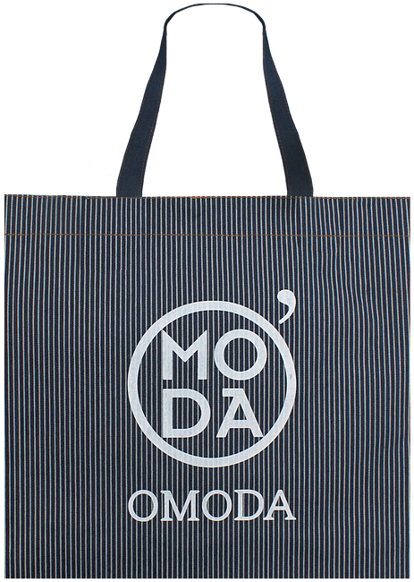 Zwarte OMODA Shopper 40x12x35 - large
