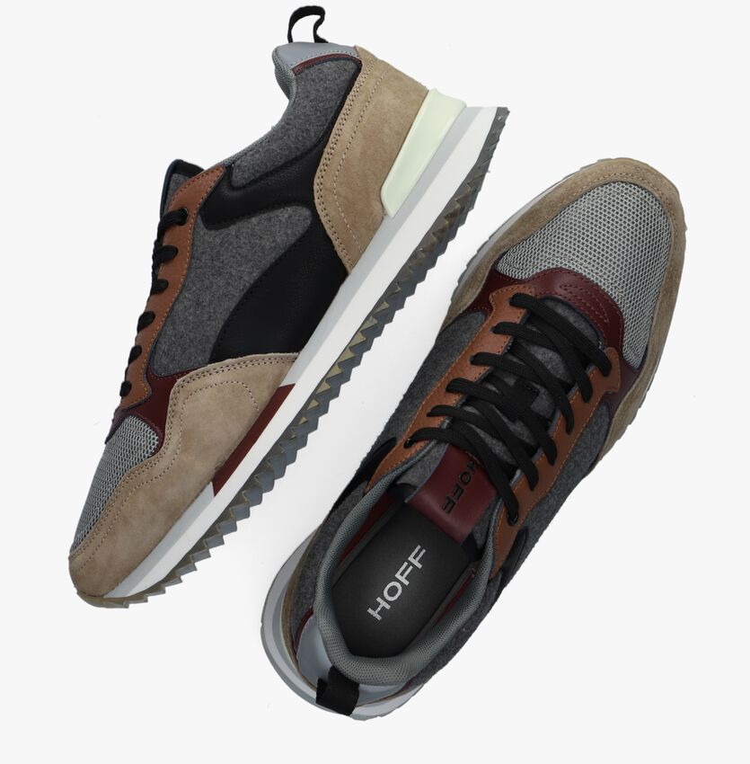 Bruine THE HOFF BRAND Lage sneakers VANCOUVER  - larger