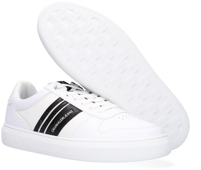 Witte CALVIN KLEIN Lage sneakers CUPSOLE LACEUP OXFORD  - large