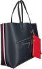 Blauwe TOMMY HILFIGER Shopper ICONIC TOTE SIGNATURE  - small