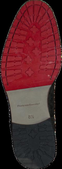 Groene FLORIS VAN BOMMEL Enkelboots 10974  - large