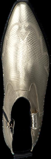 Gouden NUBIKK Enkellaarsjes HOLLY SANTOS  - large