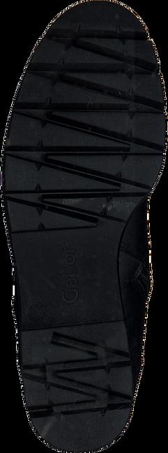 Zwarte GABOR Veterboots 93.711.27 NEW JERSEY - large