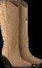 Beige TORAL Lange laarzen 12028  - small
