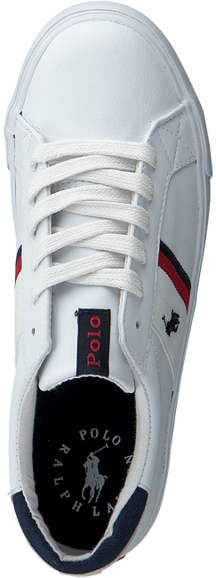 Witte POLO RALPH LAUREN Lage sneakers GAFFNEY  - large