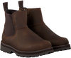 Bruine TIMBERLAND Chelsea boots COURMA KID  - small