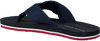 Blauwe TOMMY HILFIGER Slippers SPORTY CORPORATE BEACH  - small