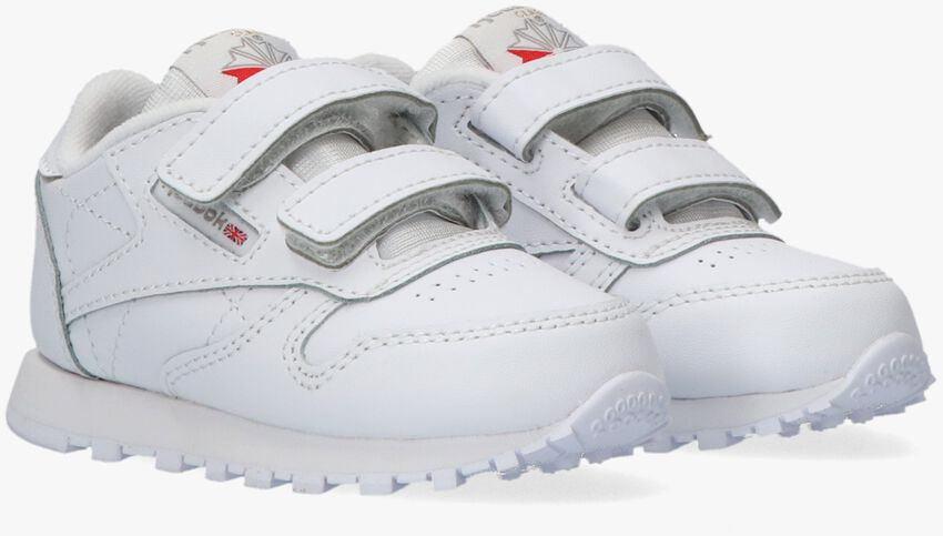 Witte REEBOK Lage sneakers CLASSIC LEATHER 2V  - larger