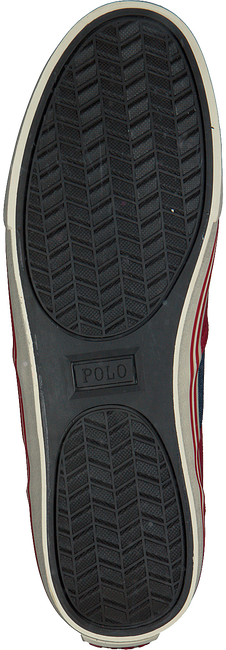 Rode POLO RALPH LAUREN Sneakers HANFORD  - large