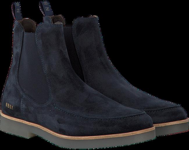 Blauwe NUBIKK Chelsea boots LOGAN BOND  - large