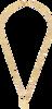 Gouden ALLTHELUCKINTHEWORLD Ketting ELEMENTS NECKLACE FLAMINGO - small