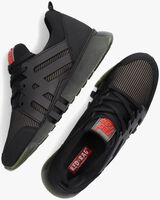 Groene RED-RAG Lage sneakers 13557  - medium