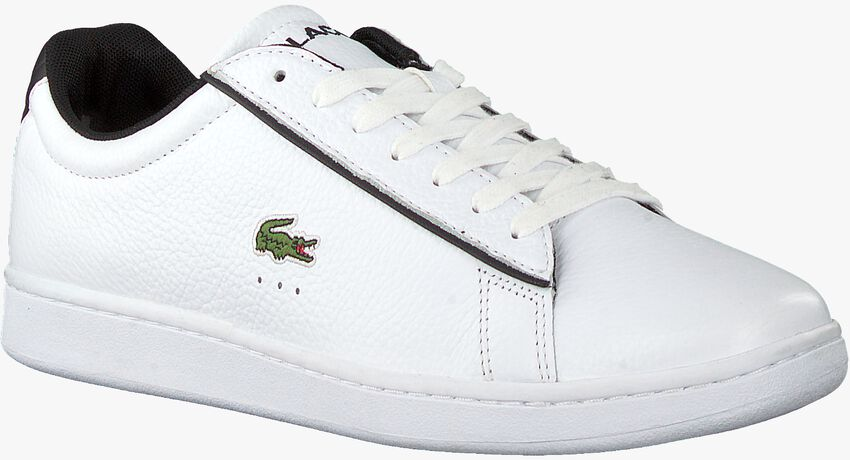 Witte LACOSTE Lage sneakers CARNABY EVO 120 - larger