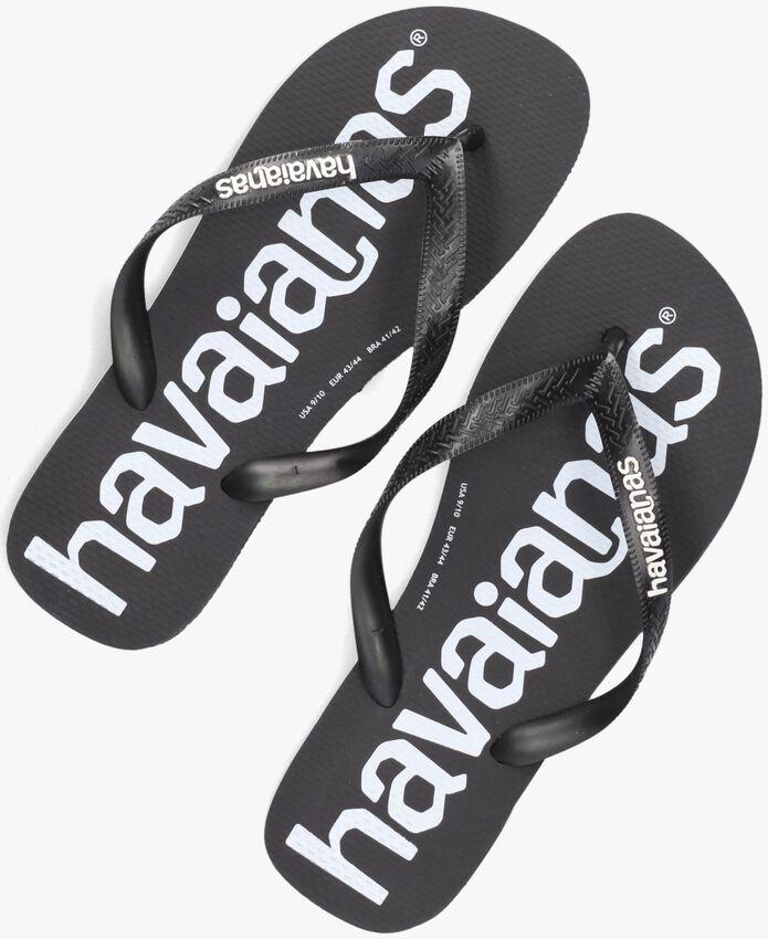 Zwarte HAVAIANAS Teenslippers HAV.TOP LOGOMANIA  - larger