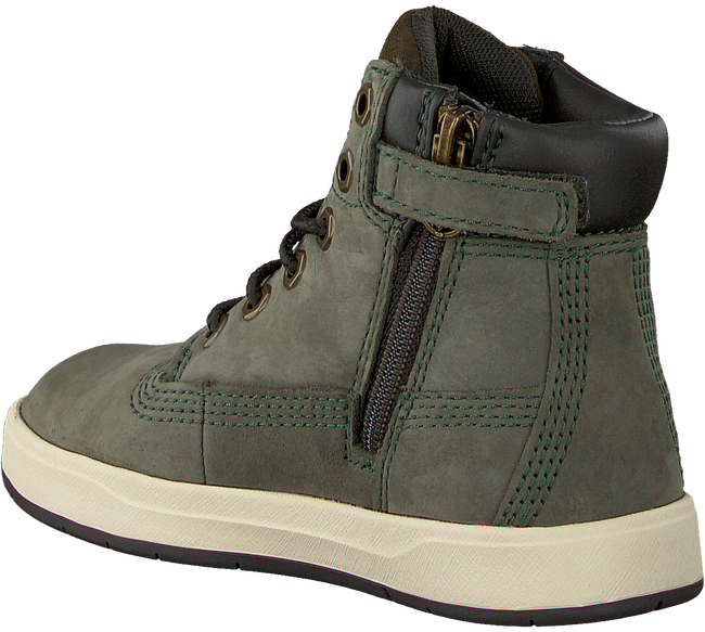 Groene TIMBERLAND Veterboots DAVIS SQUARE 6 INCH KIDS  - large