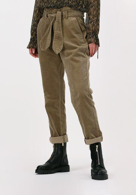 Bruine CIRCLE OF TRUST Pantalon RUBY RIB - large