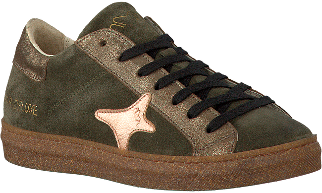 Groene AMA BRAND DELUXE Sneakers AMA-B/DELUXE DAMES  - large