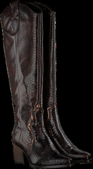 Bruine VERTON Hoge laarzen 667-007  - large