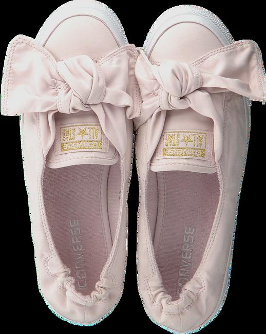 Roze CONVERSE Ballerina's CTAS KNOT SLIP BARELY ROSE/BA - large