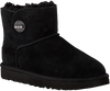 Zwarte UGG Vachtlaarzen MINI TURNLOCK BLING - small