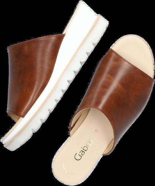 Bruine GABOR Slippers 643.1  - large