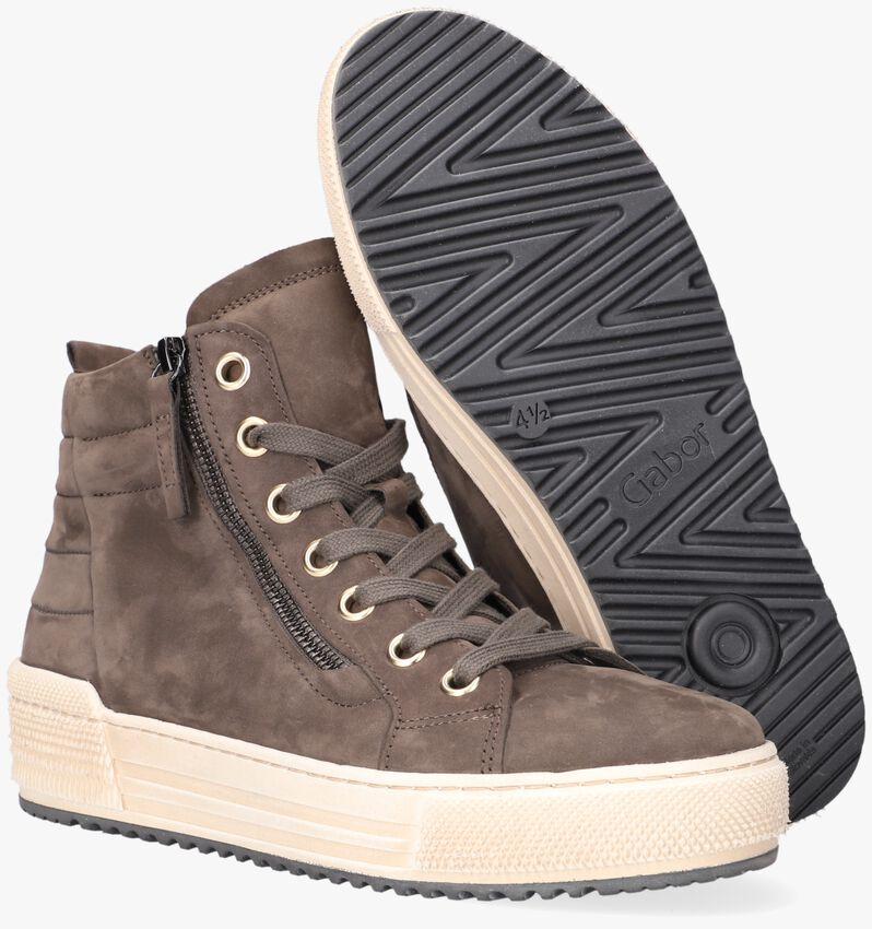 Bruine GABOR Hoge sneakers 488 - larger