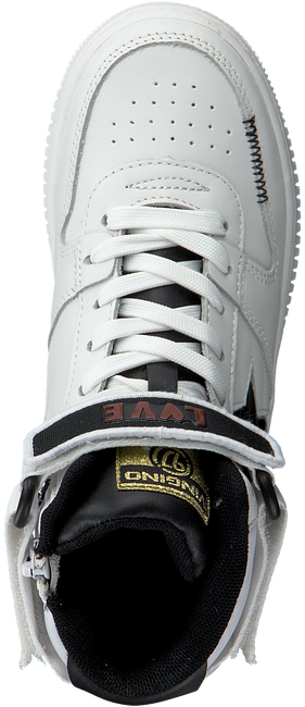 Witte VINGINO Hoge sneaker LOTTE MID  - large