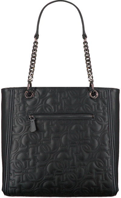 Zwarte GUESS Handtas NEW WAVE TOTE  - large