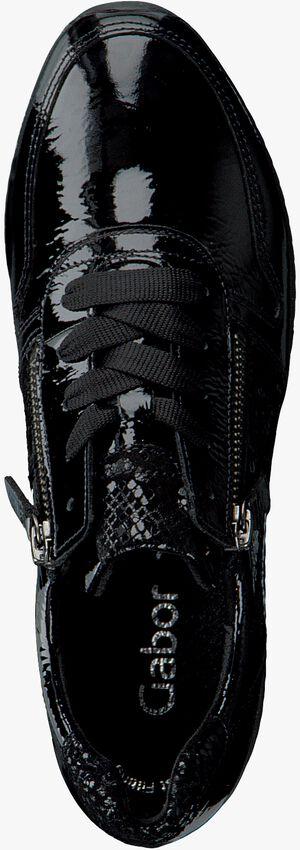 Zwarte GABOR Lage sneakers 420  - larger