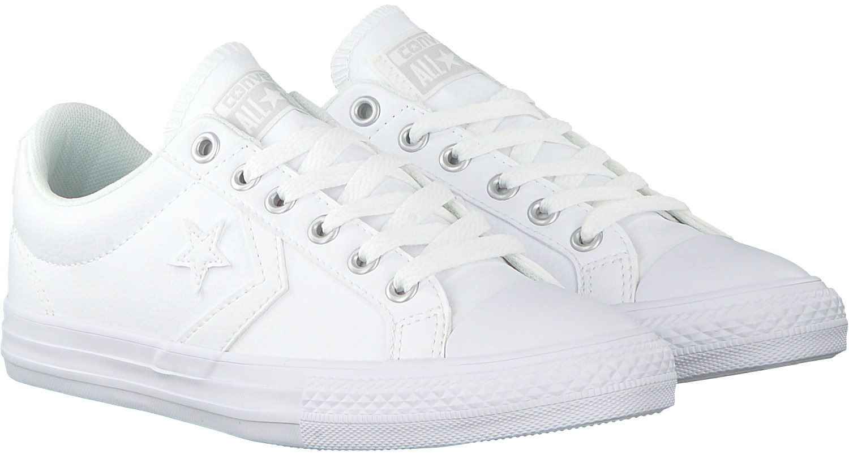 Witte CONVERSE Sneakers STAR PLAYER EV OX KIDS | Omoda