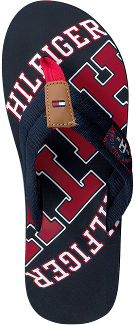 Blauwe TOMMY HILFIGER Slippers ESSENTIAL TH BEACH SANDAL - large