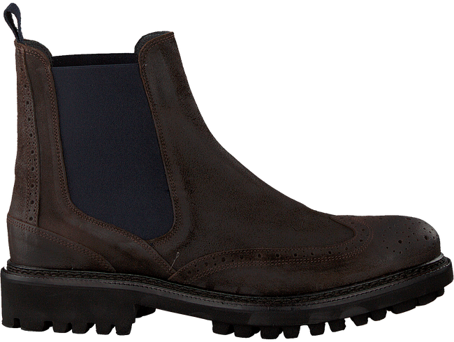 Bruine MAZZELTOV Chelsea boots 10450  - large