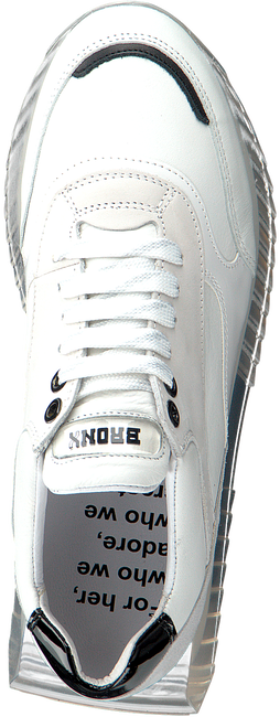 Witte BRONX Lage sneakers LINKK-UP  - large