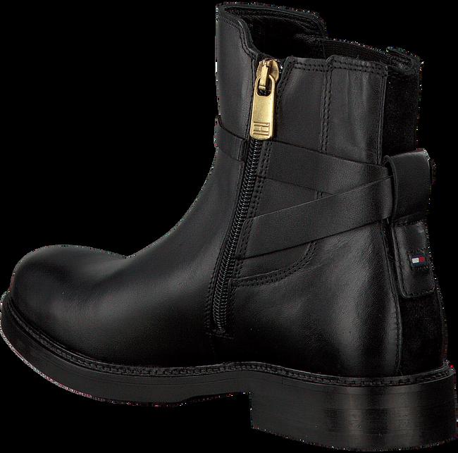 Zwarte TOMMY HILFIGER Enkellaarsjes H1285OLLY 15A  - large