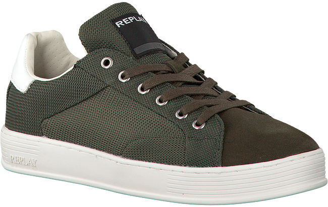 Groene REPLAY Sneakers COLLEGE  - large