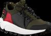 Groene HUGO Sneakers HORIZON RUNN MXKN - small