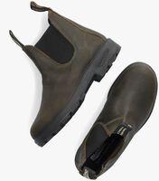 Groene BLUNDSTONE Chelsea boots ORIGINAL DAMES  - medium