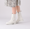 Witte NOTRE-V Chelsea boots 753090 - small