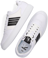 Witte CALVIN KLEIN Lage sneakers CUPSOLE LACEUP OXFORD  - medium