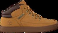 Gele TIMBERLAND Hoge Sneaker DAVIS SQUARE HIKER  - medium