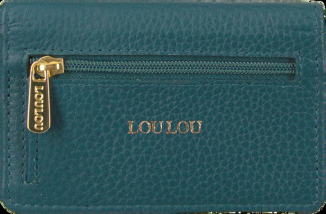 Blauwe LOULOU ESSENTIELS Portemonnee KEYW  - large