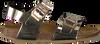 Zilveren WARMBAT Slippers NORDWIJK MIRROR METALLIC  - small