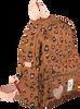 Bruine KIDZROOM Rugtas ATTITUDE  - small