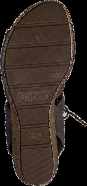 Taupe GABOR Sandalen 875  - large