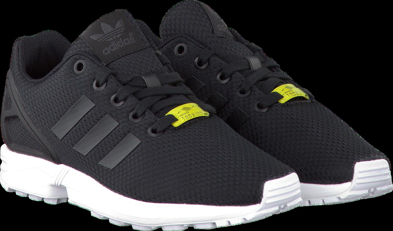 Zwarte ADIDAS Sneakers ZX FLUX DAMES | zwart | Pinterest